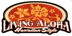 living aloha hawaiian decal