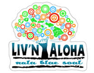 Liv'n Aloha Tree Decal
