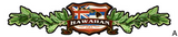 maile lei hawaiian flag decal
