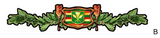 maile lei old hawaiian flag decal