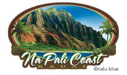 kauai na pali coast scenic decal