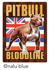 pitbull bloodline hawaiian flag decal