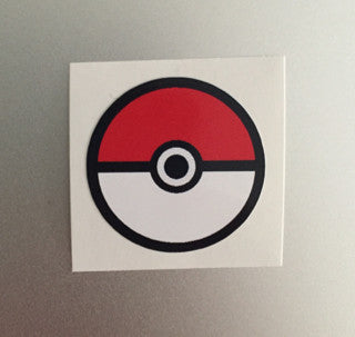 pokeball decal