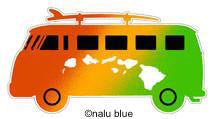rasta vw surf bus