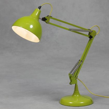 Dora Desk Lamp in Lime Green