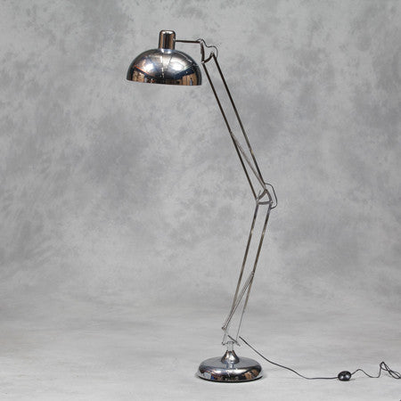 Amelia floor Lamp in Chrome XL