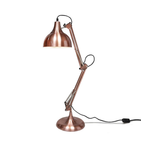 Nora Desk Lamp in Vintage Copper