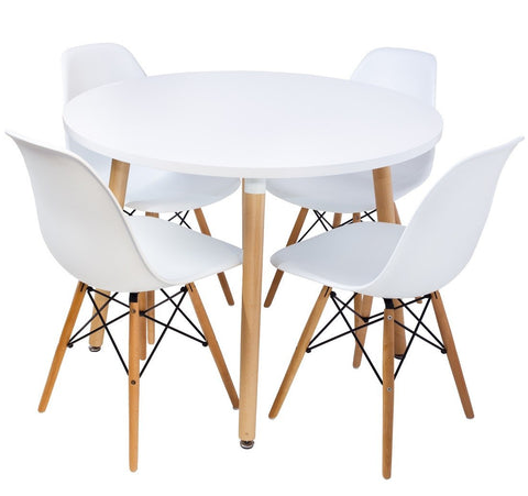 Eames Style Dining Table Set - P&N Homewares