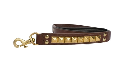 Clark Addition Brown Genuine Leather Leash