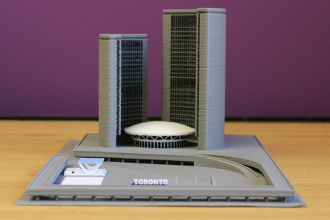 Toronto City Hall Model – Mosaic Manufacturing