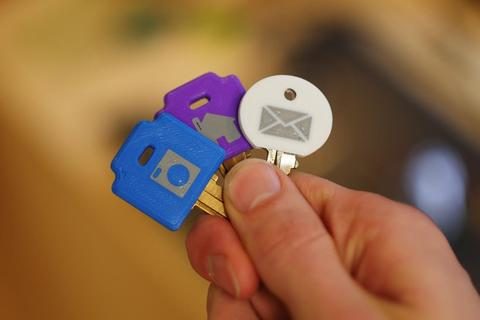 Embedded Key Covers