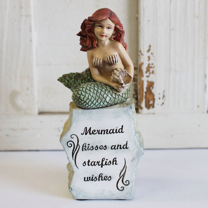 Mermaid Kisses Figurine