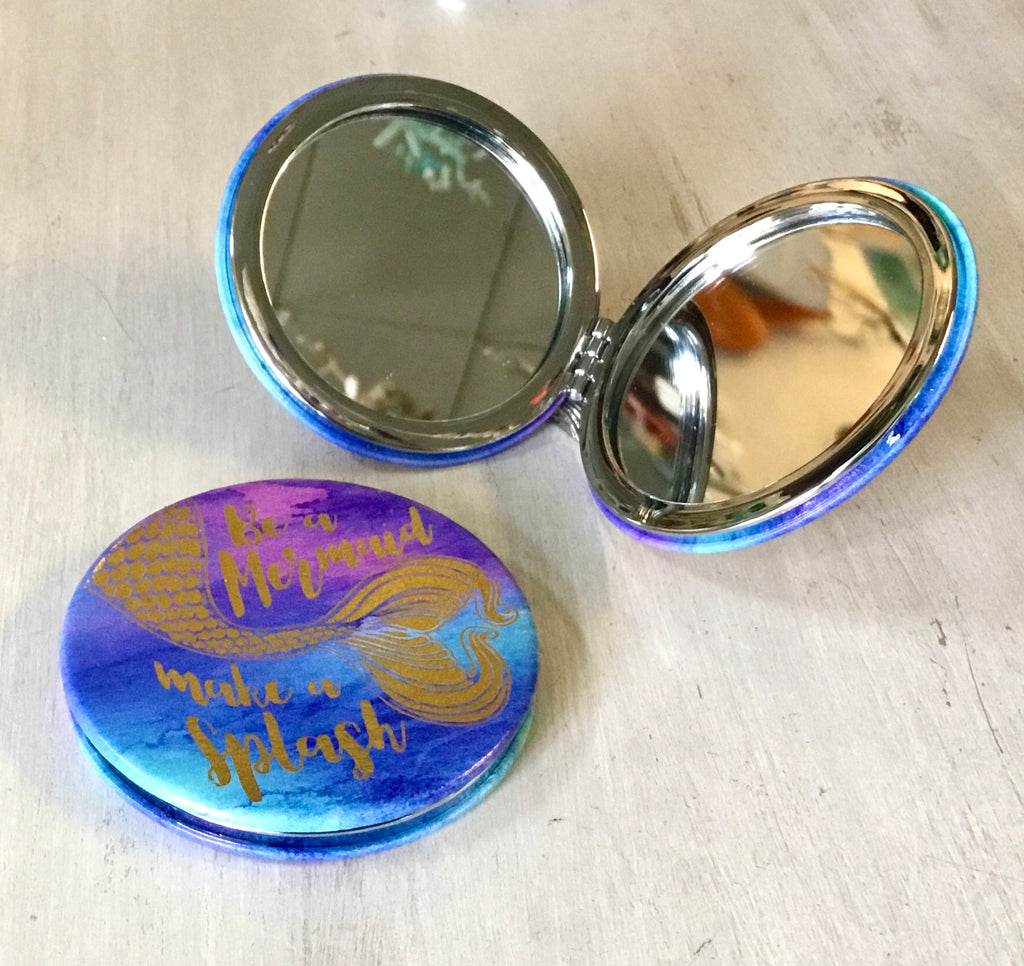 Be a Mermaid Compact Mirror