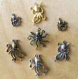 Octopus Charms & Pendants