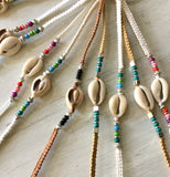 Colorful Cowrie Bracelets