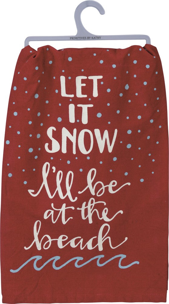 Beach Snow Towel