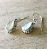 MOP Tear Drop Earrings