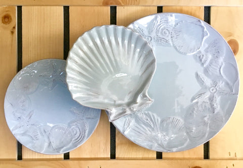 Blue Shell Dream Plates