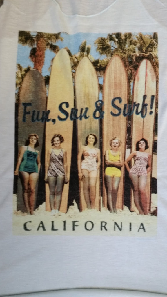 Fun Sun & Surf Tank Top
