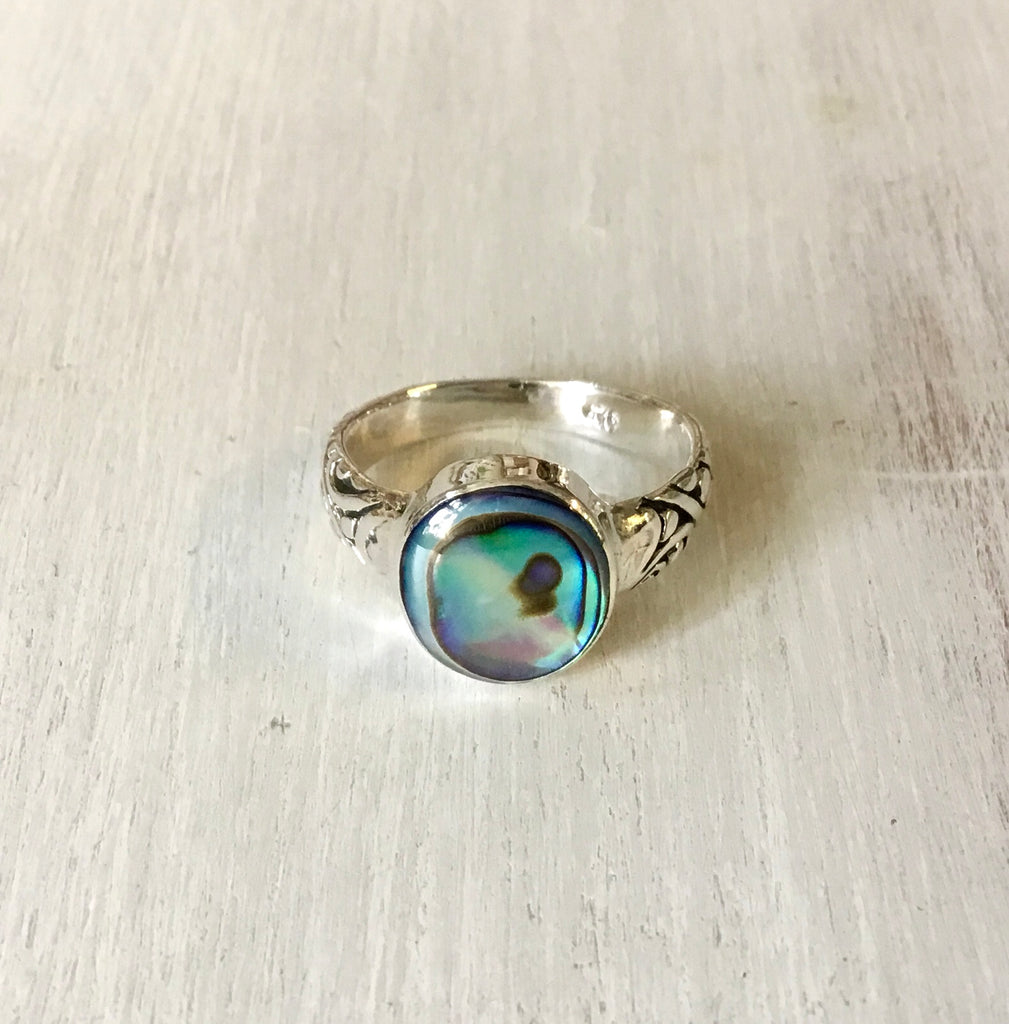 Ocean Stylized Band Ring