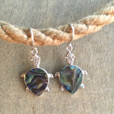 Sea Turtle Shell Earrings