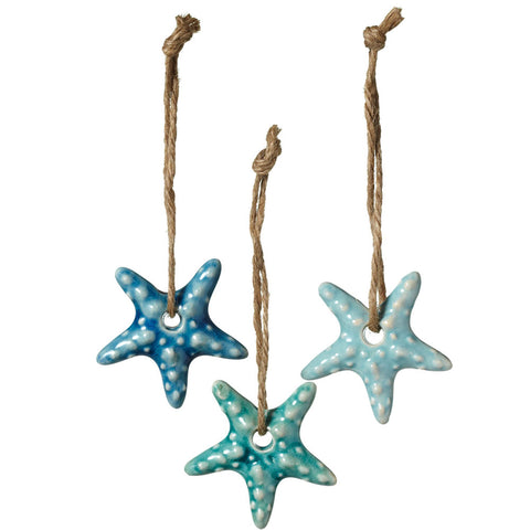 Ceramic Starfish Ornament