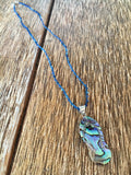 Abalone Flip Flop Necklace