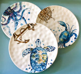 Sea Life Nautical Plate