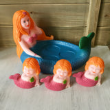 Mother & Babies Mermaid Bath Toys