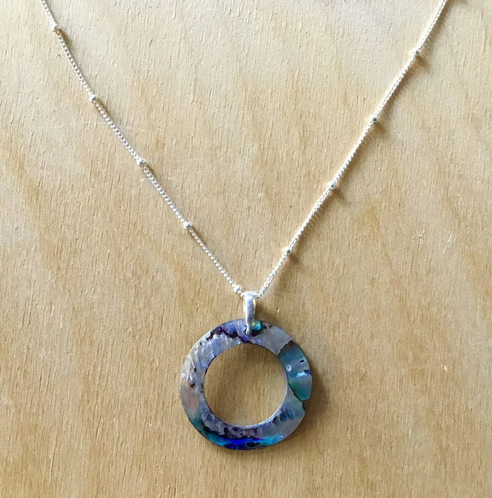 Seashell Ring Necklace