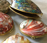 Abalone & MOP Seashell Purse