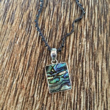 Abalone Charm Necklace