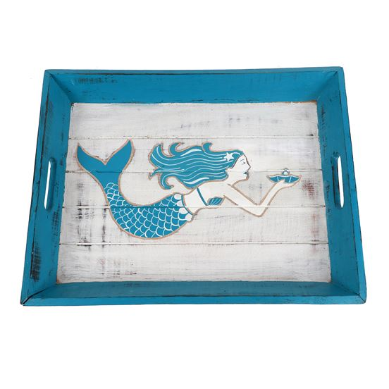 Mermaid Wood Tray