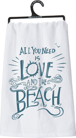 Love & The Beach Towel