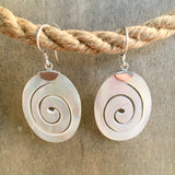 Pearl Shell Wave Earrings