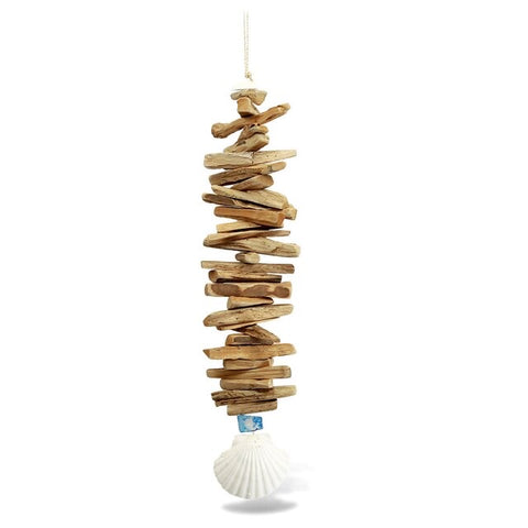 Scallop Driftwood Mobile