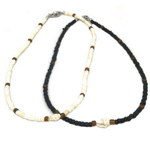 Combella Coconut Bead Necklace