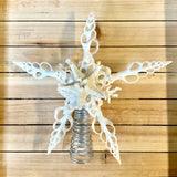 White Coral Star Tree Top
