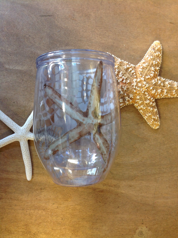 Starfish Wine Tumbler