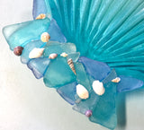 Scallop Sea Glass Platter