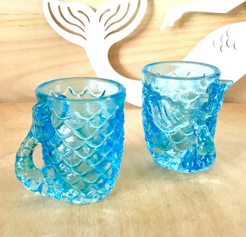 Mermaid Tail Shot Glass