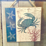 Sea Life Hanging Sign