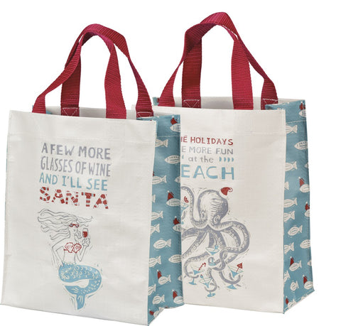 Holiday Beach Tote
