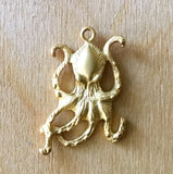 Crackin Octopus/ Medium/ Gold