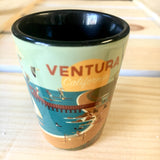 Ventura Coastline Shot Glass