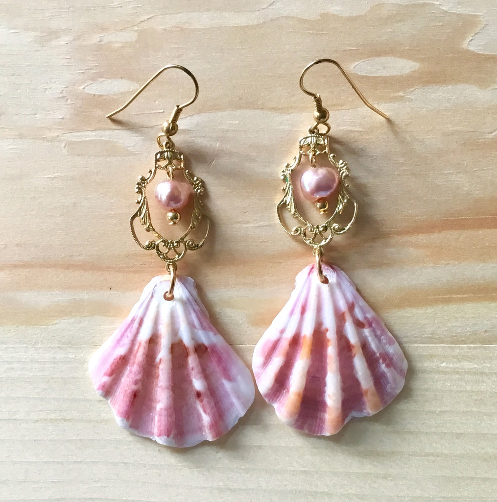 Seashell Enchantress Earrings
