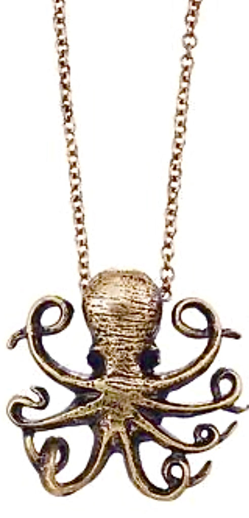 3D Octopus Necklace