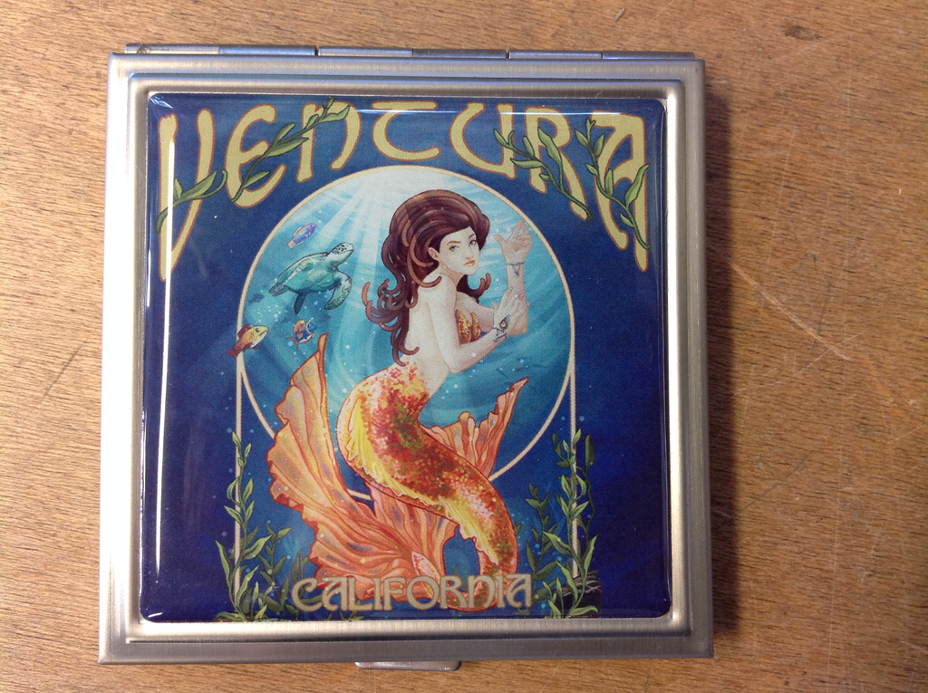 Ventura Mermaid Compact Mirror