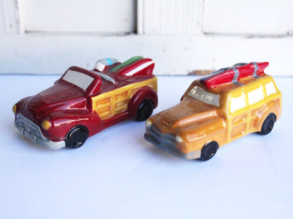 Woody Salt & Pepper Shakers