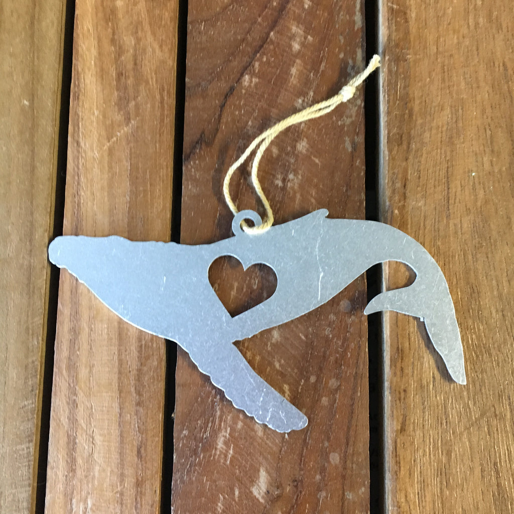 Whale Metal Ornament
